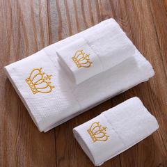 毛巾浴巾 五星酒店铂金锻系列毛浴巾套装 皇冠