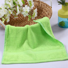 毛巾浴巾 西班牙彩虹系列 方巾34*34cm 翠绿