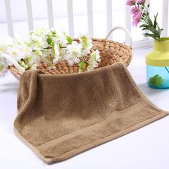 毛巾浴巾 西班牙彩虹系列 方巾34*34cm 褐色