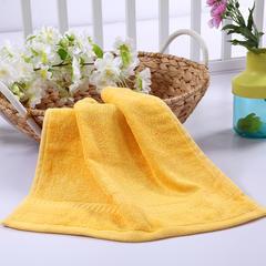毛巾浴巾 西班牙彩虹系列 方巾34*34cm 金黄