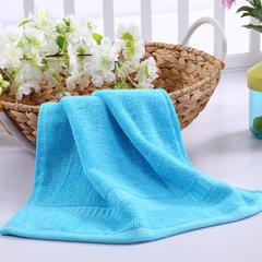 毛巾浴巾 西班牙彩虹系列 方巾34*34cm 品蓝