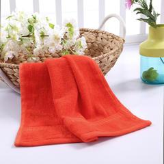 毛巾浴巾 西班牙彩虹系列 方巾34*34cm 洋红