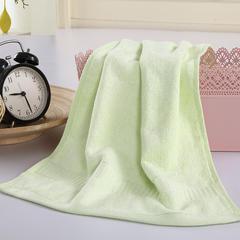 毛巾浴巾 西班牙彩虹系列毛浴巾 毛巾34*76cm 淡绿