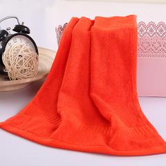 毛巾浴巾 西班牙彩虹系列毛浴巾 毛巾34*76cm 洋红
