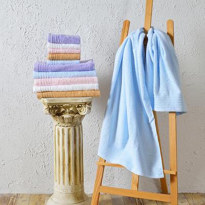 毛巾浴巾 云淡风情 灰色浴巾