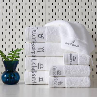 2019新款十二星座系列浴巾三件套 十二星座三件套