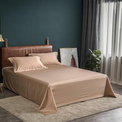 2019 新款60S长绒棉 纯色床单 160*245 香槟驼