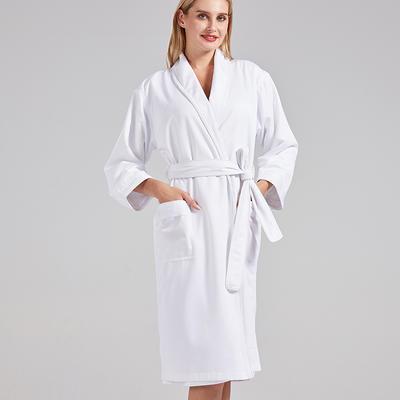jw酒店浴袍 素色同款 M 白色