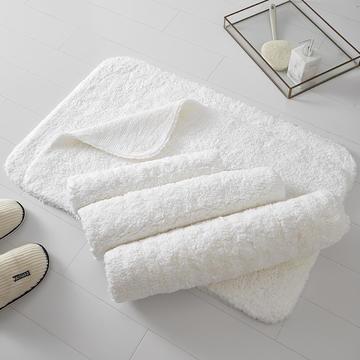 五星级酒店全棉长毛地垫地巾强吸水耐用