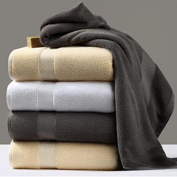 希尔顿酒店授权款标准客房加大加厚毛巾浴巾