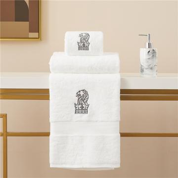 丽思卡尔顿超五星级酒店加大加厚瞬吸毛巾浴巾狮子头系列