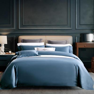 希尔顿布莱恩系列 1.5m(5英尺)床 蓝色
