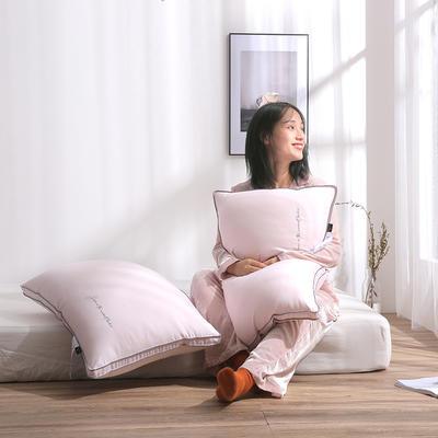 超柔云绒枕头  /  枕芯 蜜桃粉枕芯