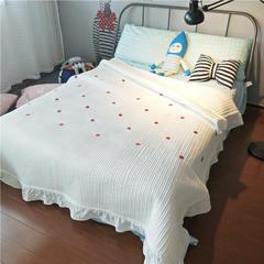 【ins床盖】 200*230 小草莓白