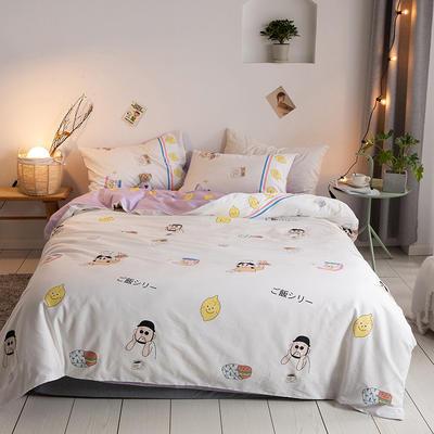 2020新款-【实拍-二次元日系】四件套 床单款三件套1.2m(4英尺)床 萝莉大叔