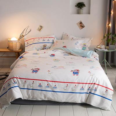 2020新款-【实拍-二次元日系】四件套 床单款三件套1.2m(4英尺)床 小萝莉
