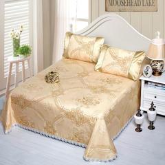 8  潮流水洗床裙系列58款 250*250cm(三件套) Q7格桑花开-金(冰岛丝)