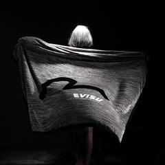 福神法莱绒毛毯 200cmx230cm 浅灰
