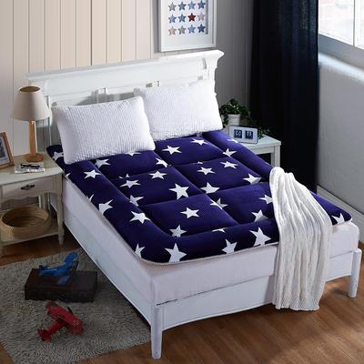 科含床垫           2017法莱绒印花床垫 0.9*2.0米 来自星星的你