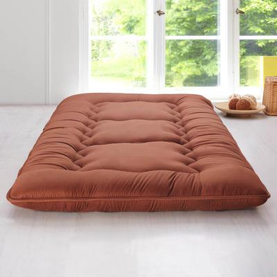 科含床垫          鹅绒加厚床垫 0.9*2.0米 咖啡