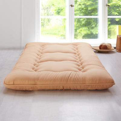 科含床垫          鹅绒加厚床垫 0.9*2.0米 驼色