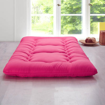 科含床垫          鹅绒加厚床垫 0.9*2.0米 西瓜红