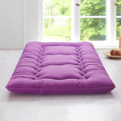 科含床垫          鹅绒加厚床垫 0.9*2.0米 紫色