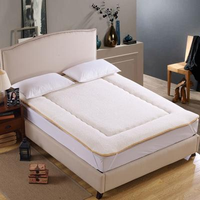 科含床垫         羊羔绒防滑垫 0.9*2.0米 羊羔绒白色