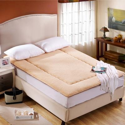 科含床垫         羊羔绒防滑垫 0.9*2.0米 羊羔绒驼色