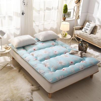科含床垫         全棉加厚床垫 0.9*2.0米 悠然花开