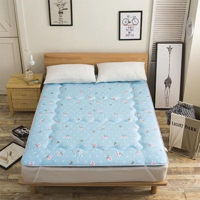 科含床垫           磨毛斜纹床垫 0.9*2.0米 花开浪漫
