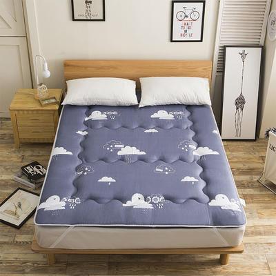 科含床垫           磨毛斜纹床垫 0.9*2.0米 漫步云端