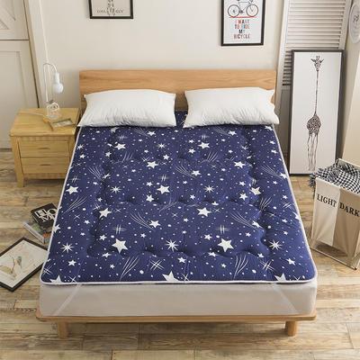 科含床垫           磨毛斜纹床垫 0.9*2.0米 星空