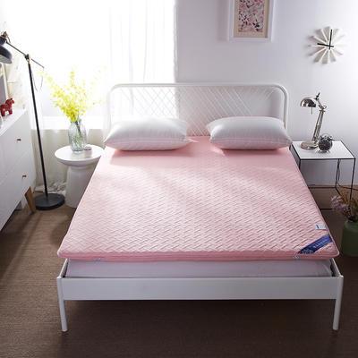 磨毛无线绗缝床垫 90*200 粉色