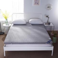 磨毛无线绗缝床垫 90*200 灰色