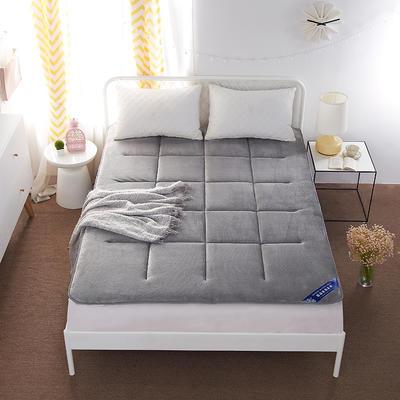 法莱绒无框床垫 90*200 灰色