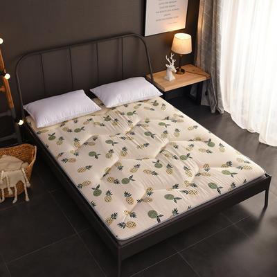 2018新款-w印花加厚床垫 90*200cm 菠萝蜜