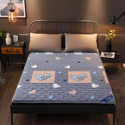 2018新款双面加厚中空床垫 90cm*200cm 中空-爱的记号