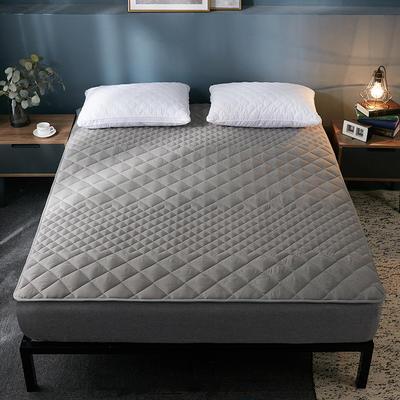 2019純色可水洗床墊 90*200 灰色