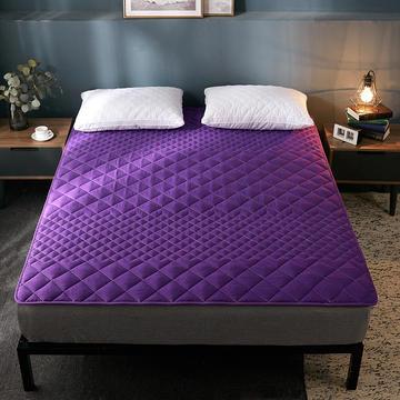 2019纯色可水洗床垫