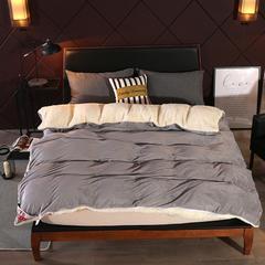 雅鹿多功能毛毯 200cmx230cm 灰色