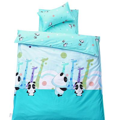 儿童产品 幼儿园儿童三件套 被套+垫套+枕套 萌鹿熊宝