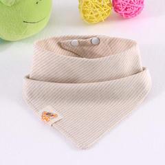 婴儿用品 彩棉三角巾 26*26cm