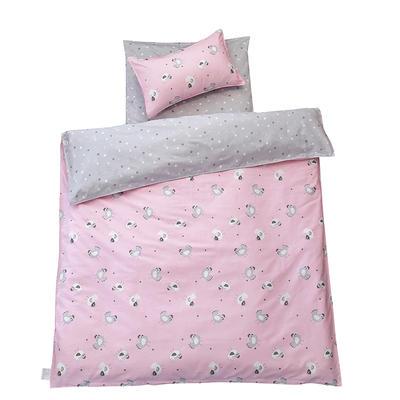 儿童产品 单品垫套/垫芯 丝绵床垫芯60*135cm 小鸡快跑