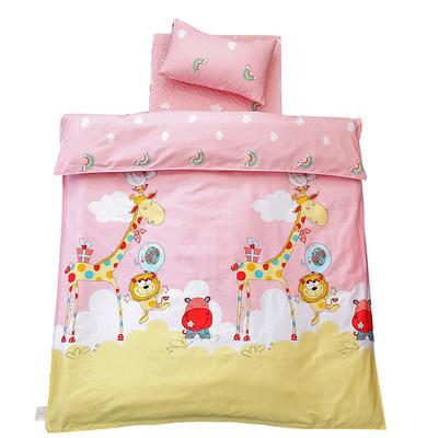 儿童产品 单品垫套/垫芯 丝绵床垫芯60*135cm 彩虹动物园