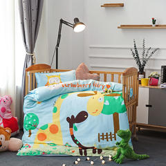 幼儿园大版花  单品垫套/垫芯 丝绵床垫芯60*120cm 动物乐园