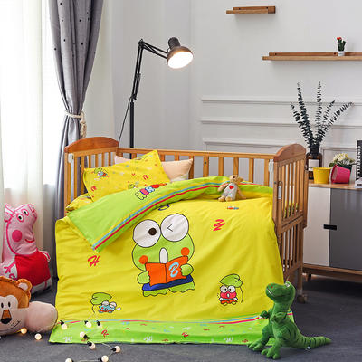 幼儿园大版花  单品垫套/垫芯 丝绵床垫芯60*120cm 青蛙王子