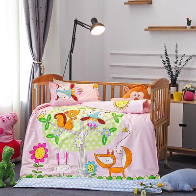 幼儿园大版花  单品垫套/垫芯 丝绵床垫芯60*120cm 森林之歌