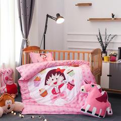 幼儿园大版花  单品垫套/垫芯 丝绵床垫芯60*120cm 丸子甜心