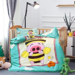 幼儿园大版花  单品垫套/垫芯 丝绵床垫芯60*135cm 小麦兜